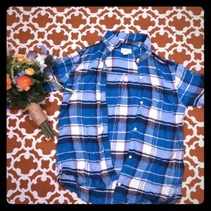 Old Navy Girls Flannel Button-up